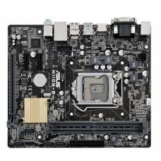 Մայր Սալիկ ASUS H110M-R/C/SI (microATX, PCI-E, 2xPCI-Ex1, 2DDR4, USB3.0, GbLan)