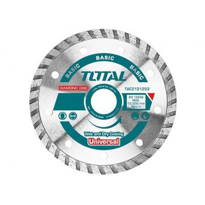 Ալմաստե սկավառակ 125 մմ TOTAL TAC2131253 (ԿՈԴ 4196)