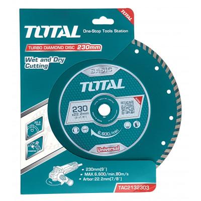 Ալմաստե սկավառակ 230 մմ TOTAL TAC2132303 (ԿՈԴ 4198)