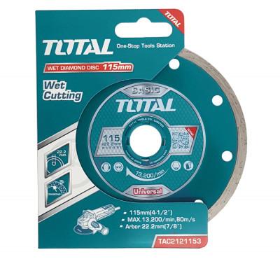 Ալմաստե սկավառակ 115 մմ TOTAL TAC2121153 (ԿՈԴ 4203)