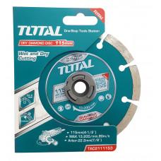 Ալմաստե սկավառակ 115 մմ TOTAL TAC2111153 (ԿՈԴ 4199)