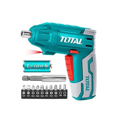 Total TSDLI0401  Մարտկոցով պտուտակահան 4վ (ԿՈԴ 11793)