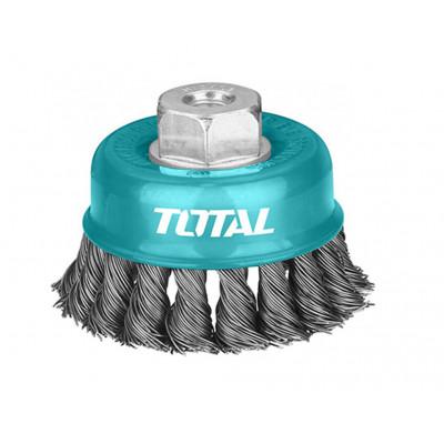 Խոզանակ անկյունահղկիչի կոշտ 100 մմ  TOTAL TAC32041 (ԿՈԴ 3492)