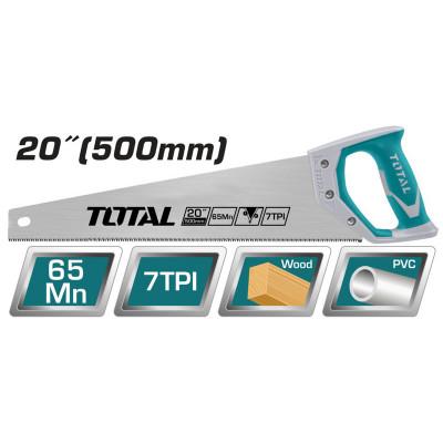 Սղոց փայտի TOTAL THT55206 500մմ (ԿՈԴ 3522)