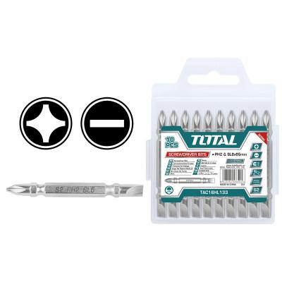 Պտուտակահանի գլուխ տուփով երկկողմանի TOTAL TAC16HL133 (ԿՈԴ 4209)