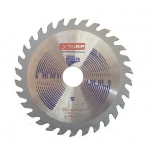 Փայտ կտրող սկավառակ ЗУБР 125x1,8x22,2 мм