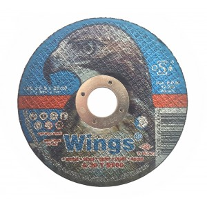 Մետաղ կտրող սկավառակ Wings 125x2.5x22.23