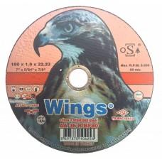 Մետաղ կտրող սկավառակ Wings 180x1.9x22.23