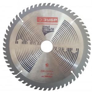 Փայտ կտրող սկավառակ ЗУБР 230x2,8x32 мм