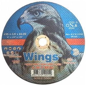 Մետաղ կտրող սկավառակ Wings 230x3.0x22.23
