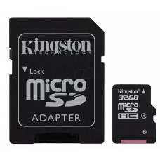 Հիշողության քարտ Micro SD Card Kingston SDC4/32GB (32GB, Class 4)