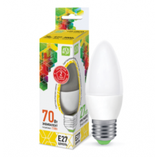 Լամպ LED-մոմիկ-STD 7.5W 230V E27 3000K 675LM ASD