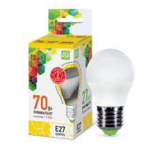 Լամպ LED-STD 7.5W 230V Е27 3000К 675LM ASD