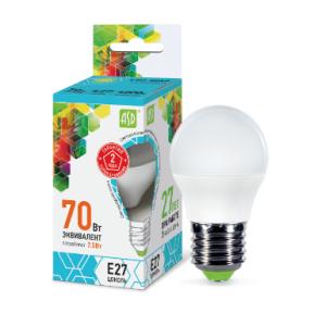 Լամպ LED-STD 7.5W 230V E27 4000К 675LM ASD