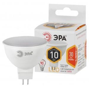 LED MR16-10W-827-GU5.3 ЭРА (դեղին) (ԿՈԴ S252)