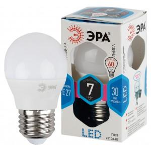 LED P45-7W-840-E27 ЭРА (չեզոք) (ԿՈԴ S163)