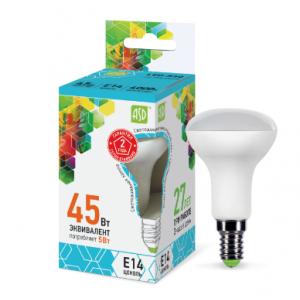 Լամպ LED-R50-STD 5W 230V Е14 4000К 450LM ASD