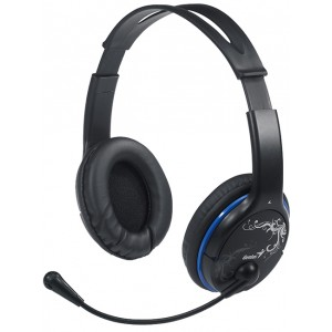 Ականջակալներ Genius HS-400A Black blue