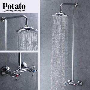 Ցնցուղի հավաքածու խառնիչով Potato P3565 (ԿՈԴ 8404)