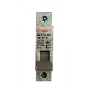 Ավտոմատ անջատիչ Sunart C16  1P