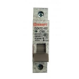 Ավտոմատ անջատիչ Sunart C50 1P
