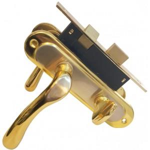 Դռան կողպեք BOVOS BK62-F10-LK6S N/GP առանց բանալիների