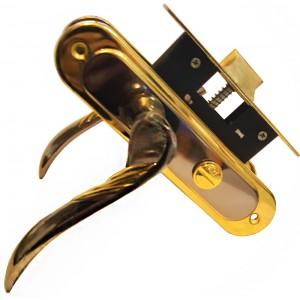 Դռան կողպեք BOVOS BK32-L017 BN/GP առանց բանալիների