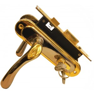 Դռան կողպեք BOVOS 62-F10-LK6 BN/GP
