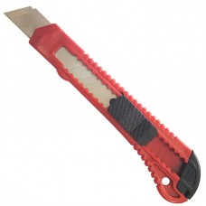 Գրենական դանակ 18 մմ կարմիր