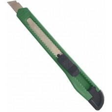 Գրենական դանակ 9 մմ կանաչ